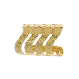 Gold Wavy Cuff
