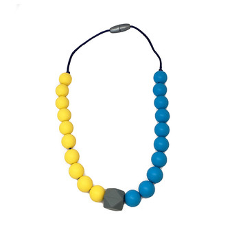 Stardust Generation Boys Two Tone Necklace In Yellow And Blue