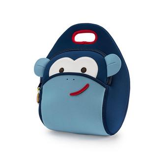 Dabbawalla Blue Monkey Lunch Bag