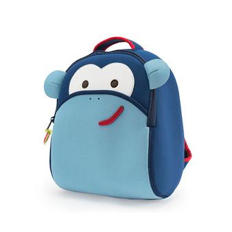 Dabbawalla Blue Monkey Backpack