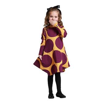 KidCuteTure Alicia Dress in Pansy