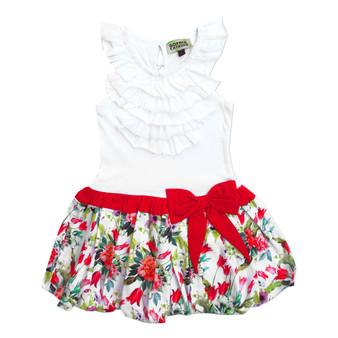 Sophie Catalou  White Knit Victoria Dress