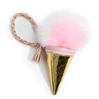 Me Oui Ice Cream Wristlet In Pink