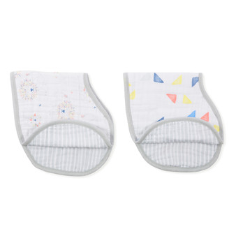 Leader Of The Pack 2-Pack Classic Burpy Bibs