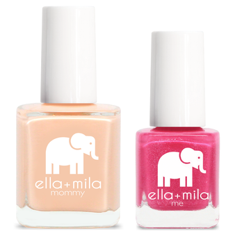 Mommy & Me Set - Nude Attitude + Pretty In Pink