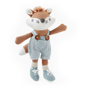 """8"""" Mini Felix Fox Baby Knit Toy"""