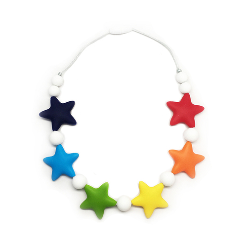 Stardust Generation Kids Classic Star Rainbow Necklace