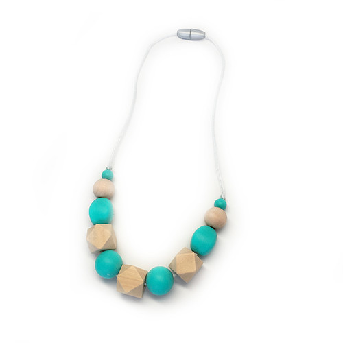 Stardust Generation Girls The Petite Regent Necklace In Turquoise