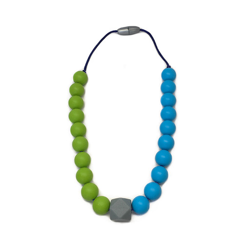 Stardust Generation Boys Two Tone Necklace In Green And Blue