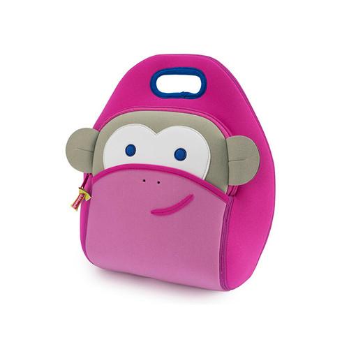 Dabbawalla Blushing Pink Monkey Lunch Bag