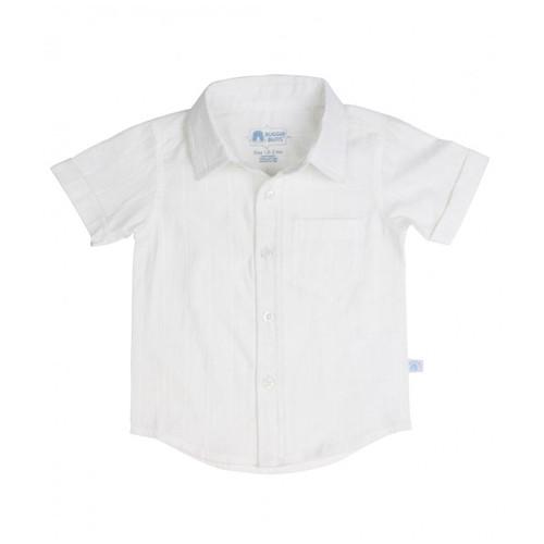 Rugged Butts White Dobby Short Sleeve Shirt