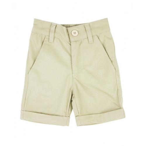 Rugged Butts Khaki Cuffed Chino Shorts