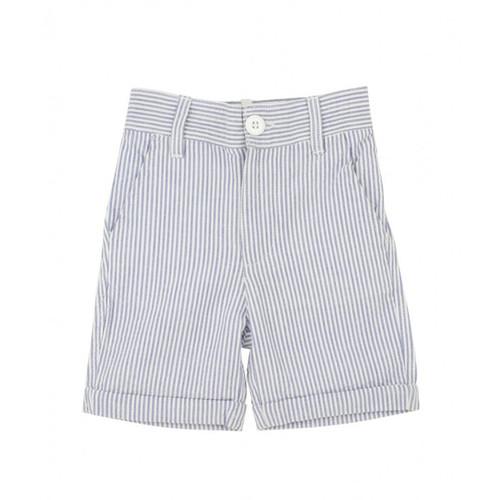 Rugged Butts Blue Seersucker Shorts