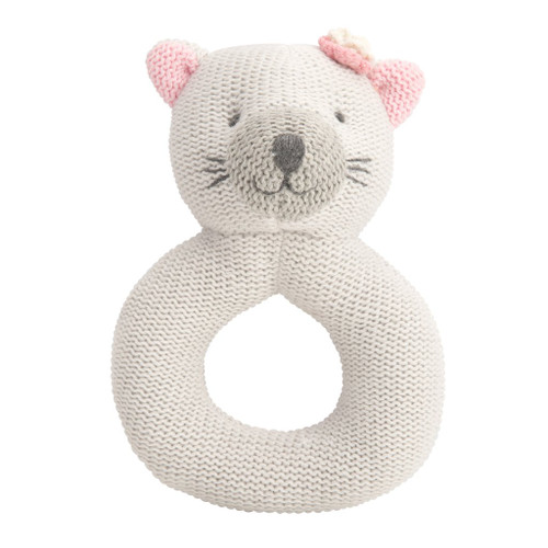 Lil' Wanderers Ring Rattle - Kitty