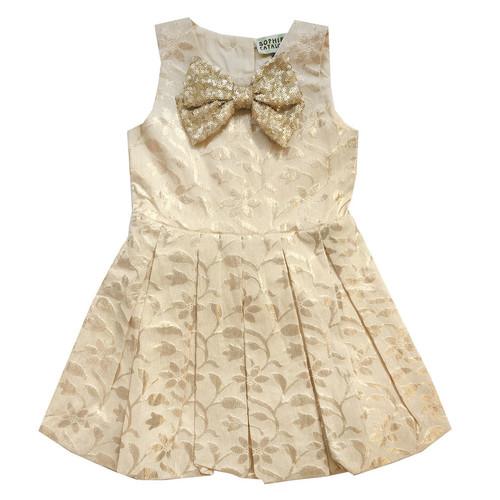 Gold Sveta Dress