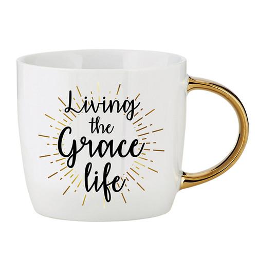Living The Grace Life Mug