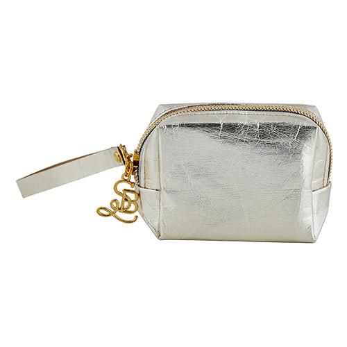 Mini Pouch Wristlet - Champagne