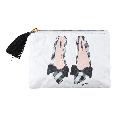 Pink Shoes Coin Purse