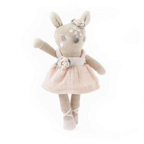 8'' Mini Fifi Fawn Baby Knit Toy