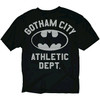 Batman Gotham Athletic Mesh Black T-Shirt
