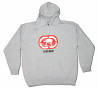 Echo Base Parody Hooded Sweatshirt (Athletic Grey)