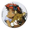 Cowboy Bebop Button Pin - Edward & Ein