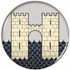 Game of Thrones Button Pin - Frey