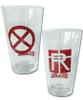 Kill la Kill Pint Glasses Set - Nudist Beach & Revocs Set