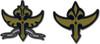 Code Geass Pin Set - Knights of the Round & Britannia's Mili