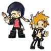My Hero Academia Pin Set - Chargebolt & Earphone Jack