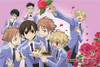 Ouran High School Host Club Poster - Flower Group