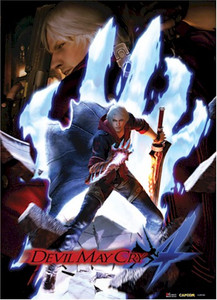 Devil May Cry Wallscroll - Keyart #84055