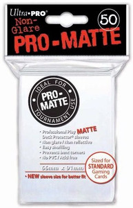 Ultra Pro Pro-Matte Sleeves Standard - White (Matte)
