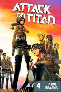 Attack on Titan Graphic Novel 04