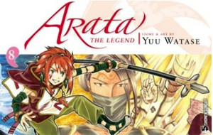 Arata: The Legend Graphic Novel 08
