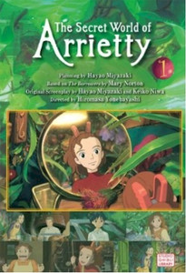 Secret World of Arrietty Film Comic Vol. 01