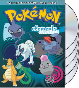 Pokemon Elements DVD Collection Part 2