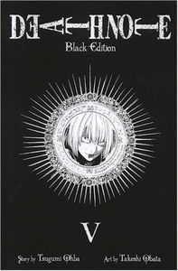 Death Note Graphic Novel Black Edition 05