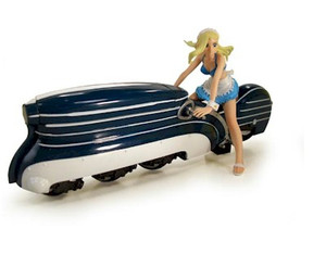 Solty Rei 1/20 Scale Rose and Bike PVC Figure