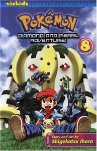 Pokemon Diamond and Pearl Adventure Graphic Novel 08