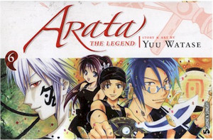 Arata: The Legend Graphic Novel 06