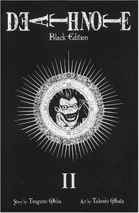 Death Note Graphic Novel Black Edition 02