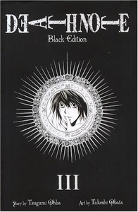 Death Note Graphic Novel Black Edition 03