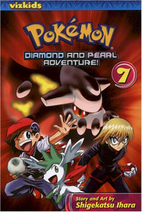 Pokemon Diamond and Pearl Adventure Graphic Novel 07