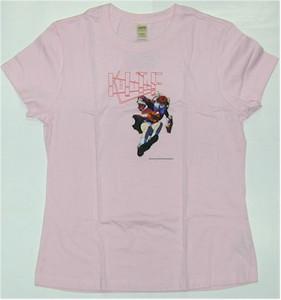 Kite Babydoll T-shirt Sawa Jump L (Pink)