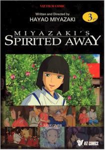 Spirited Away Graphic Novel Vol. 03