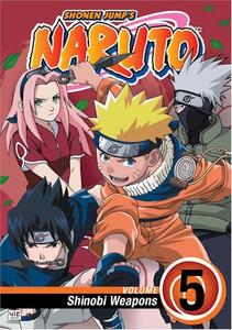 Naruto DVD 05 Shinobi Weapons