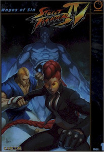 Street Fighter IV Graphic Novel 01