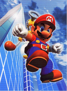 Super Mario Brothers Wallscroll #321