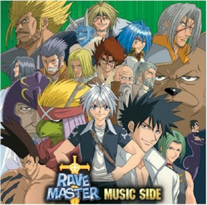 Rave Master - Music Side CD